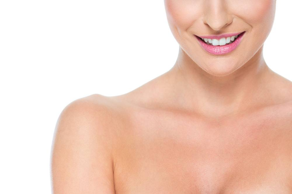 Treat decollete wrinkles