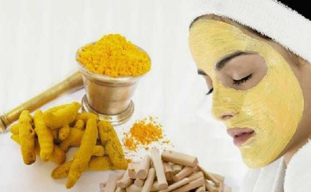 Turmeric and Sandalwood Mask