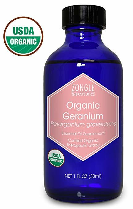 Zongle Organic Geranium Essential Oil